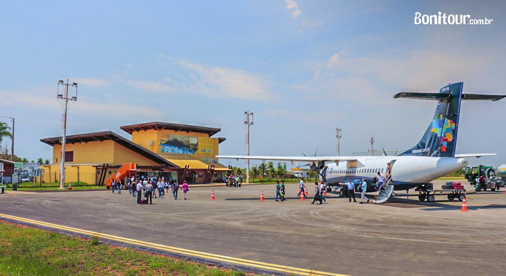 Novos voos para Bonito MS iniciam em Dezembro