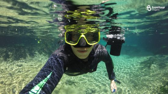 Câmera subaquática: a sua melhor amiga debaixo d'água