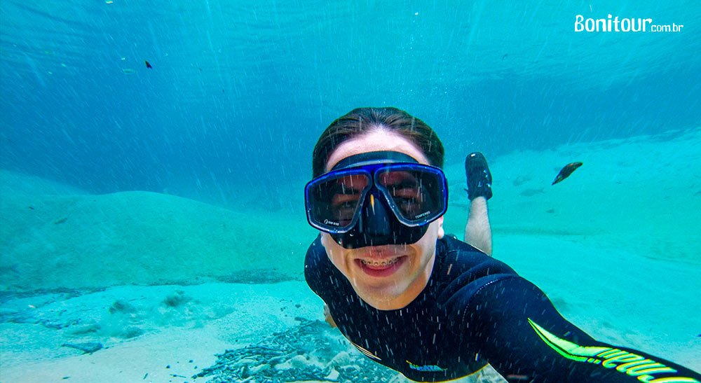 Mergulhos em Bonito com Gopro