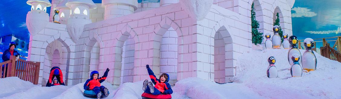 Diversão para todas as idades na Serra Gaúcha Snowland