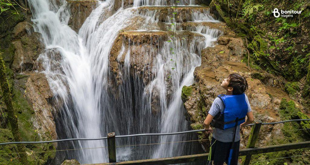 Cachoeira Boca da Onça de Bonito/MS em Setembro