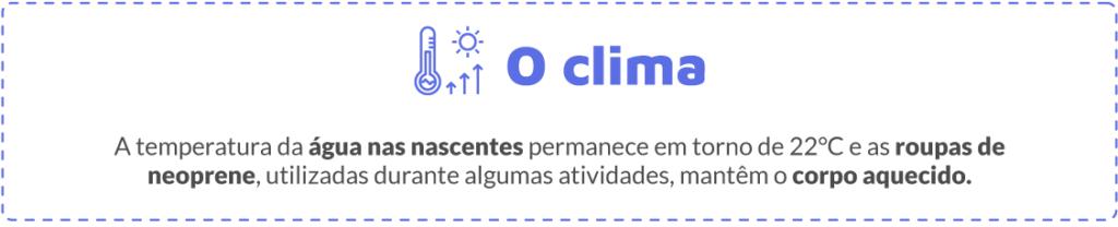 O clima e Bonito/MS em Setembro