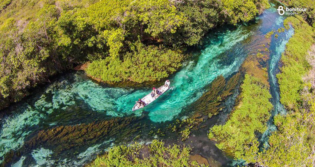 Bonito/MS em Outubro: Flutuação no Rio Sucuri