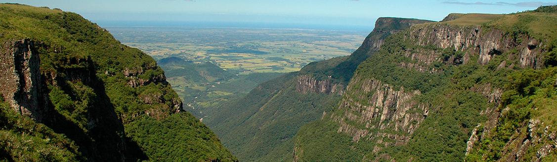 Caminhada e contemplação - Serra Gaúcha