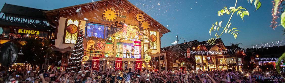 Show de Acendimento das Luzes de Natal, no Palácio dos Festivais