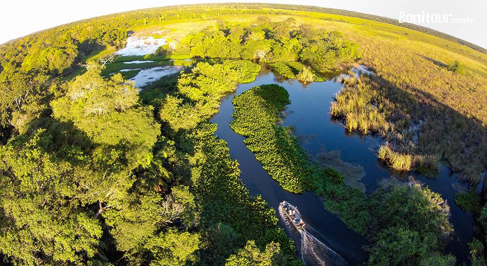 Hospedagem no Pantanal