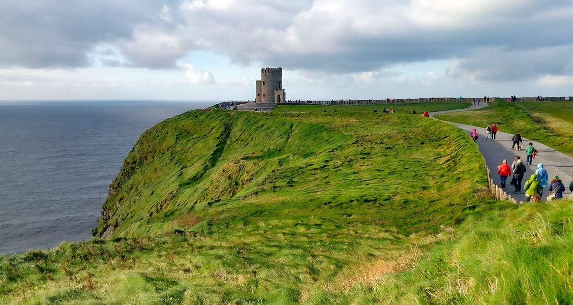 Irlanda-Falésias-de-Moher
