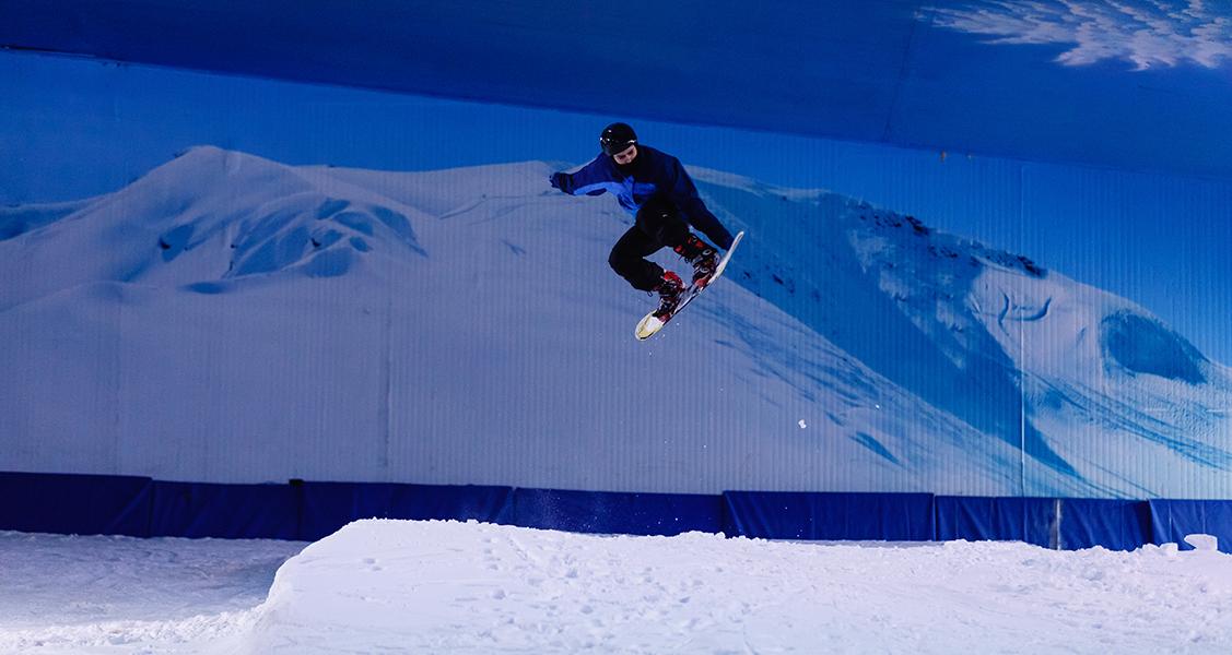 Snowboard-no-Parque-Snowland