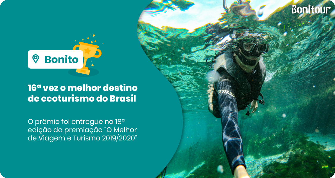 Banner com o Prêmio-recebido-por-Bonito-MS-de-melhor-destino-de-ecoturismo-do-Brasil