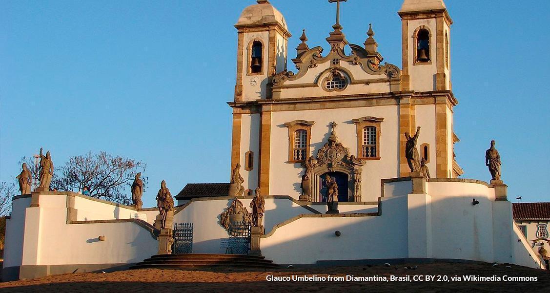 Santuário do Bom Jesus de Matosinhos/MG