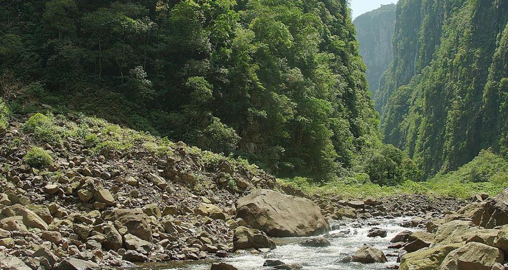 Trilha Trilha do Rio do Boi na Serra Gaúcha RS