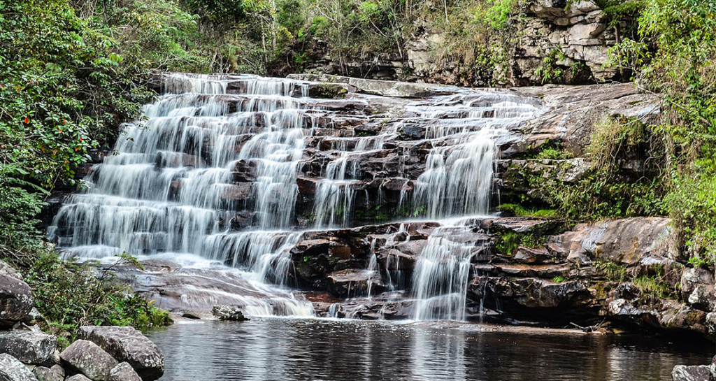 Cachoeira Vale do Pati na Chapada da Diamantina BA