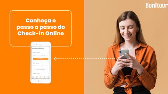 Passo a passo: como realizar o Check-in Online através do site e aplicativo da Bonitour