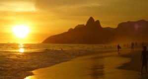 Praia de Ipanema no Rio de Janeiro RJ