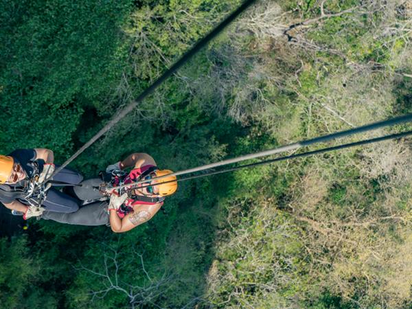 Rapel em Bonito: onde realizar a atividade
