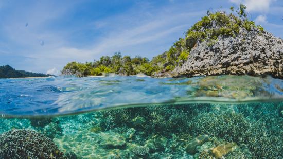 As águas mais cristalinas do mundo
