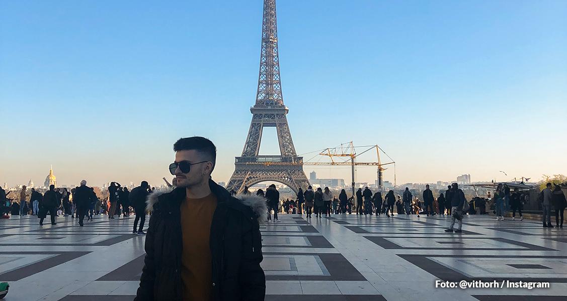 Start na viagem pela Europa! Primeira parada: Torre Eiffel - Paris, França
