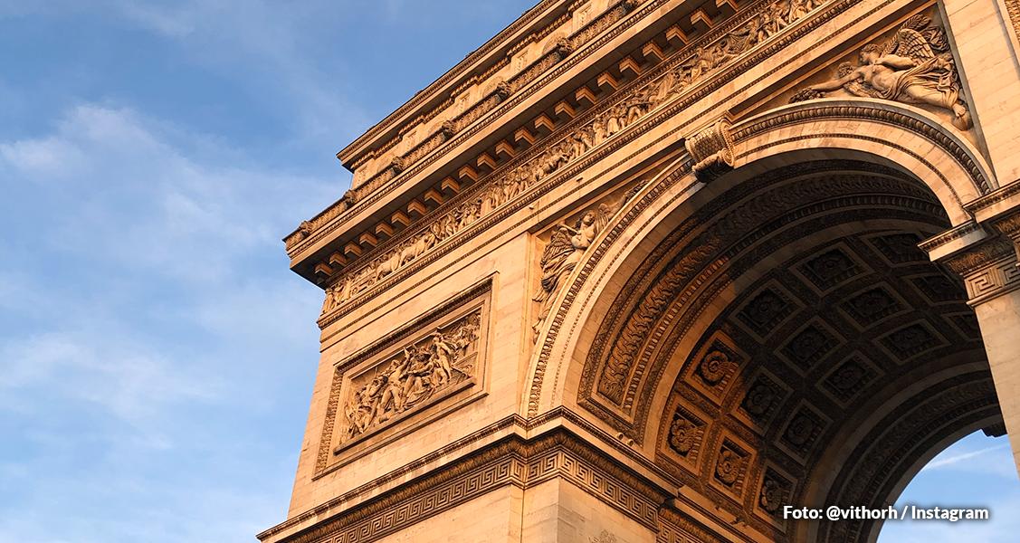 Arco do Triunfo- Paris, França