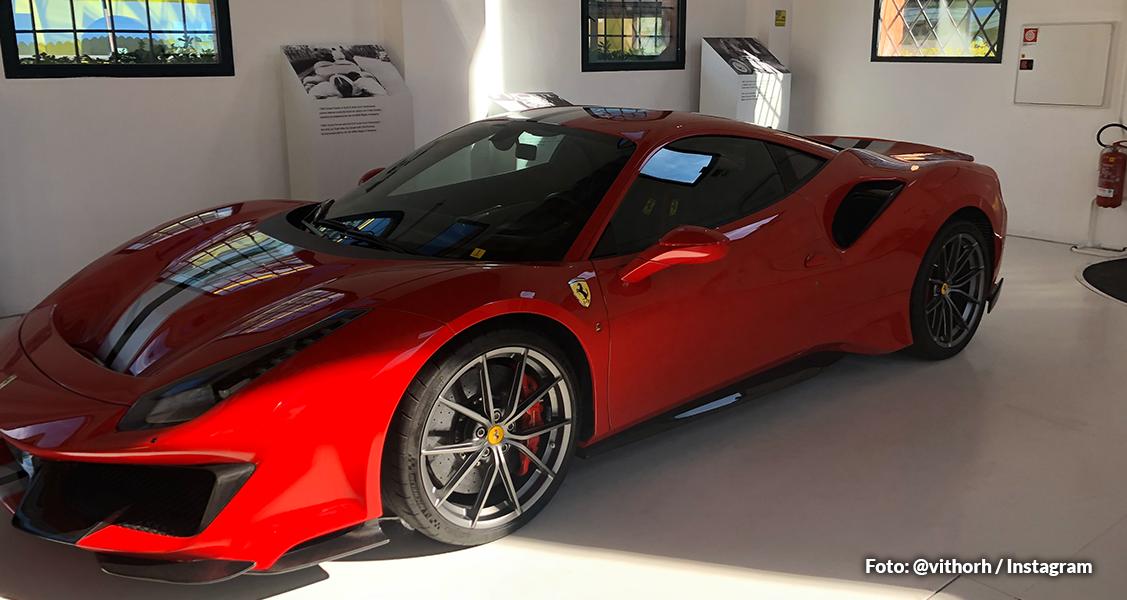 Museu da Ferrari na Itália