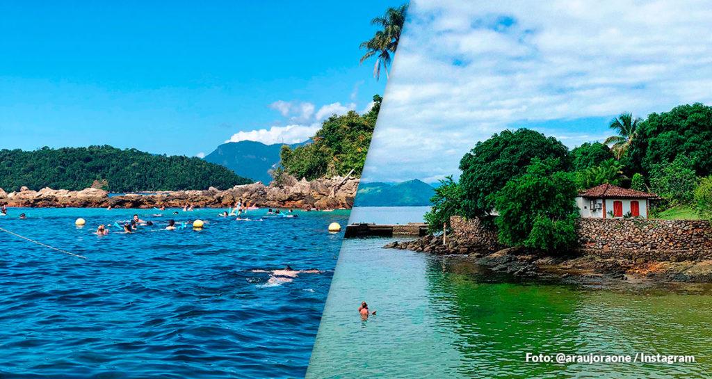 Passeio das ilhas paradisíacas: Ilha Cataguás, Ilha Botinas, Praia do Dentista e Praia da Piedade
