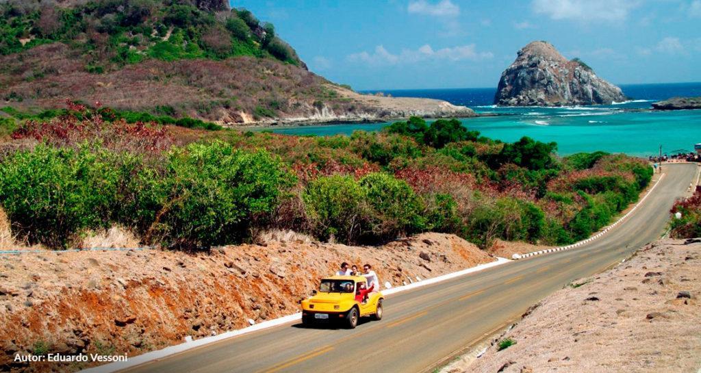 Fernando de Noronha tem a menor rodovia do Brasil