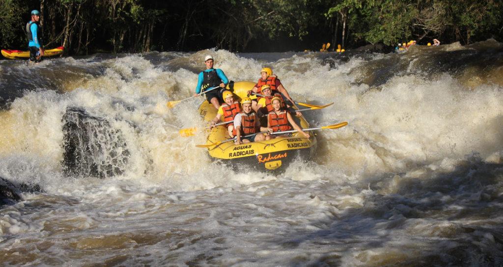 Rafting em Brotas/SP