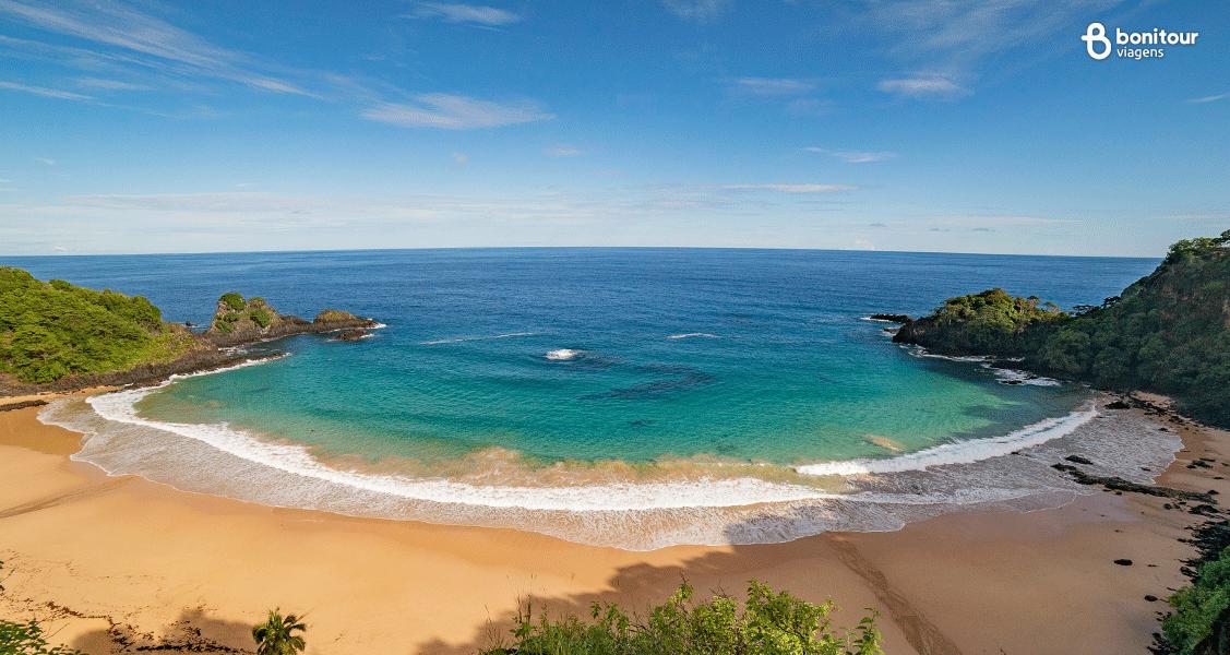 Praia do Sancho em Fernando de Noronha/PE